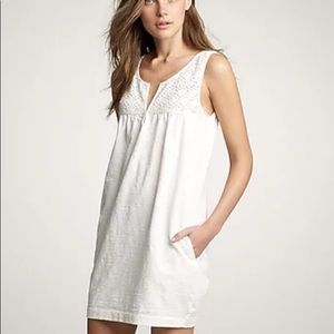 JCREW Woman's ivory shift dress NWT